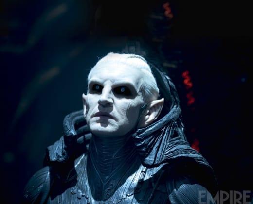 Christopher Eccleston as Malekith in Thor: The Dark World