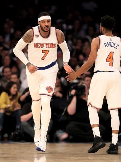 Carmelo Anthony as a Knick