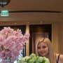 Amanda Bynes Smells Flowers