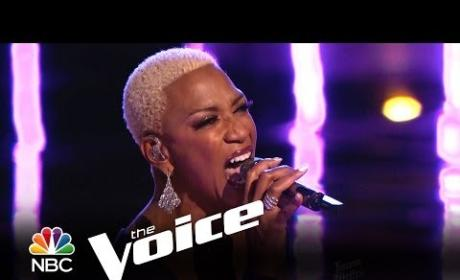 Sisaundra Lewis - Natural Woman (The Voice)