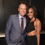 Rachel Lindsay and Chris Harrison
