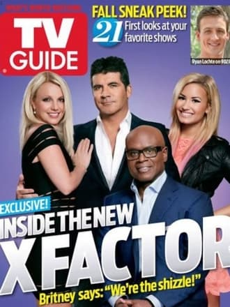 The X Factor Covers TV Guide Magazine