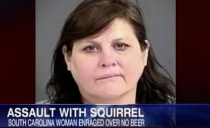 Woman Arrested For Assault With Deadly Squirrel; Was Enraged Over Lack of Beer