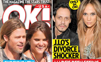 "Brad Pitt ""Mystery Woman"" Revealed; Angelina Jolie ""Can't Take It"""