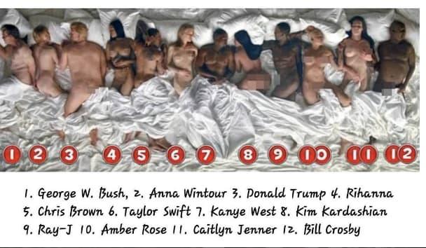 Kanye west famous video naked-6206