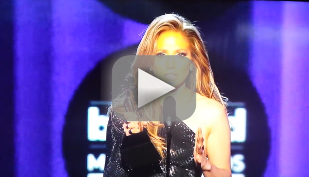 Jennifer Lopez Billboard Music Awards Speech
