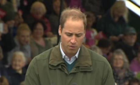 Prince William Speaks on Prince George