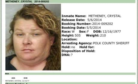 Crystal Metheney Mug Shot