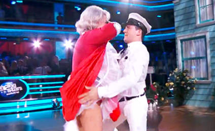 Paula Deen Gets Butt Smacked on Dancing with the Stars