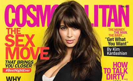 Kim Kardashian to Cosmo: No Rush to Marry!