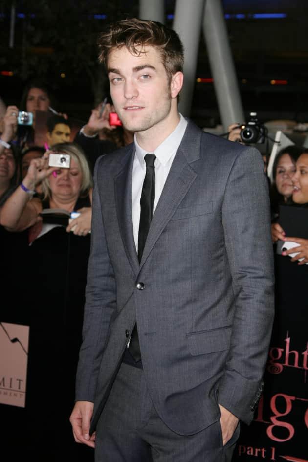 Robert Pattinson at Breaking Dawn Premiere