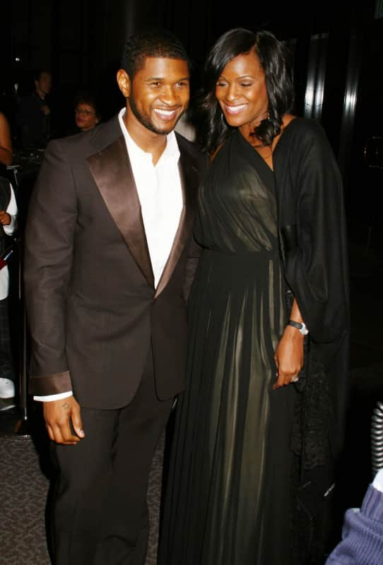 Usher and Tameka Foster