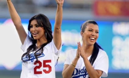 Batter Up! Celebrities Bleed Dodger Blue