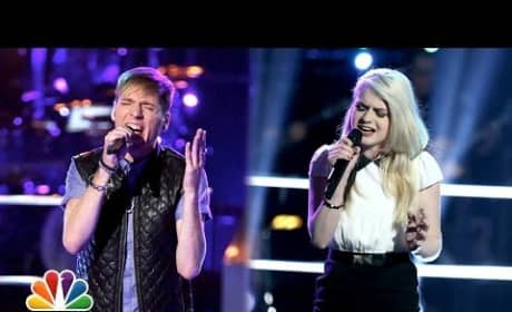 Holly Henry vs. Nic Hawk - The Voice Knockout