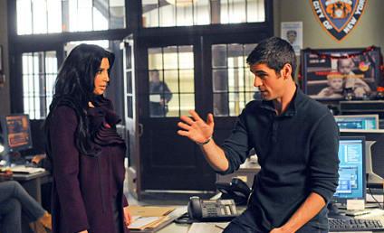First Look: Kim Kardashian and Vanessa Minnillo on CSI: NY