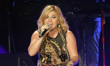 Kelly Clarkson in Manchester