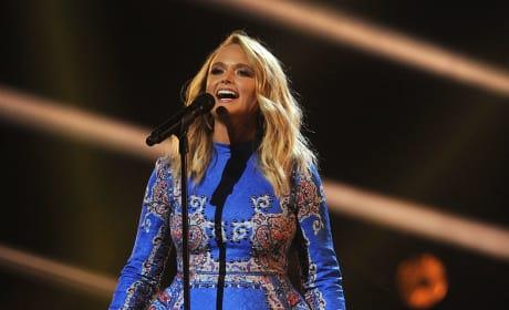 Miranda Lambert at the Mic
