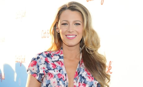 Blake Lively in a Dress