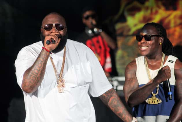Rick Ross Rapping