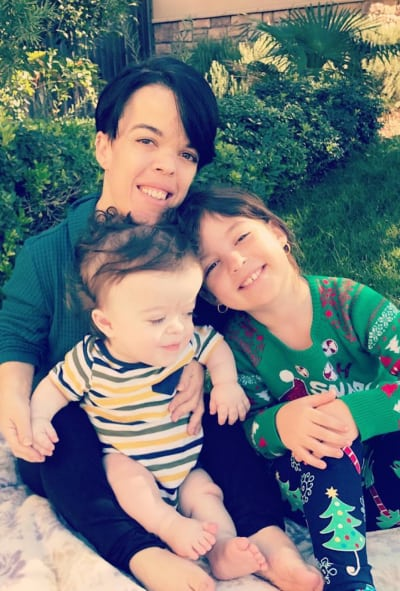 Briana Renee and Kids