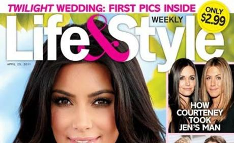 Kim Kim Kardashian Life & Style Cover