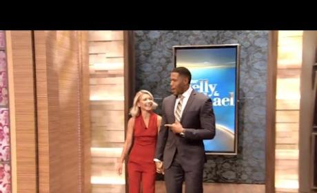 Kelly Ripa Makes Live! Return