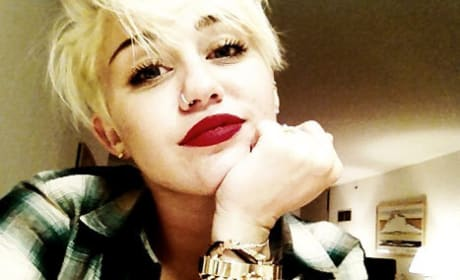 Short Miley Cyrus Haircut