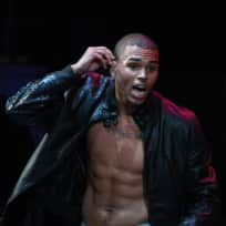 Chris Brown Shirtless (Almost)