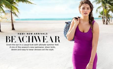 H&M Swimsuit Model