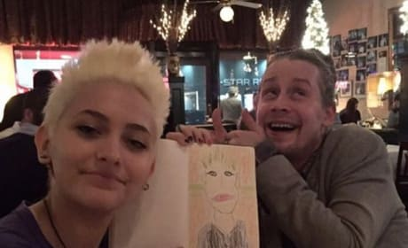 Paris Jackson and Macaulay Culkin