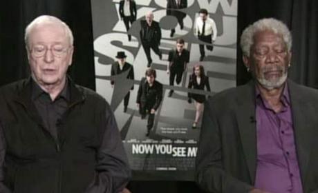 Morgan Freeman Falls Asleep in TV Interview