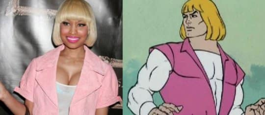 Nicki Minaj vs. He-Man