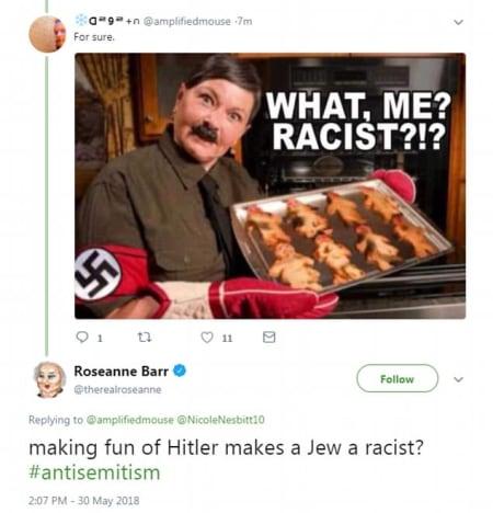 nazi tweet pic