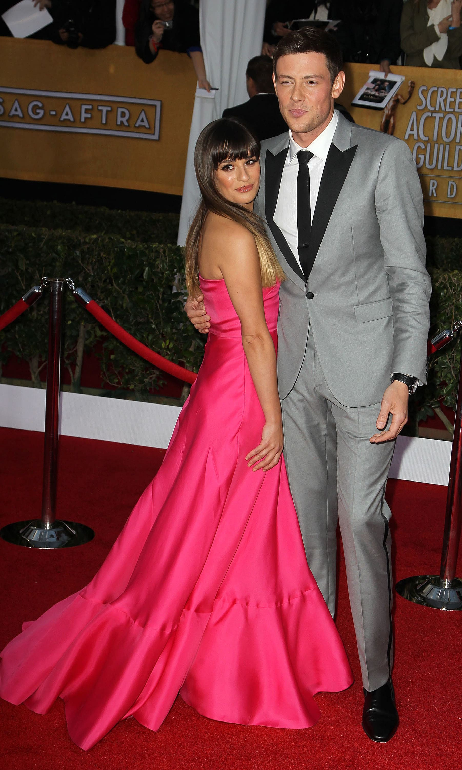 when did lea and cory get engaged