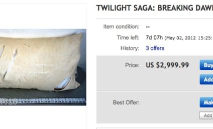 Breaking Dawn Sex Pillow: On Sale!