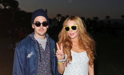 Lindsay Lohan: Partying at Coachella?