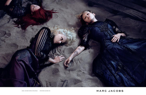 Miley Cyrus Models for Marc Jacobs