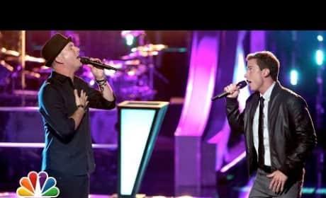 "Josh Logan vs. Michael Lynch: ""Harder to Breathe"" - The Voice Battle Round"