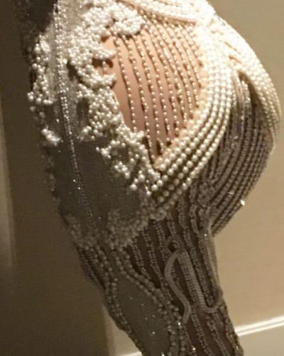 Kourtney Kardashian's butt