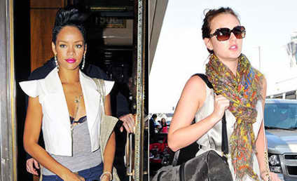 Fashion Face-Off: Rihanna vs. Leighton Meester