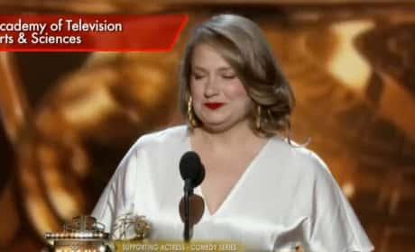 Merritt Wever Emmy Acceptance Speech