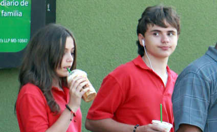 Spotted: Prince Michael and Paris Jackson!