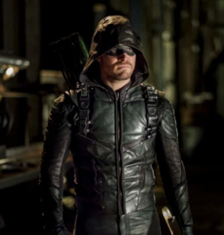 Stephen Amell for The CW's Arrow