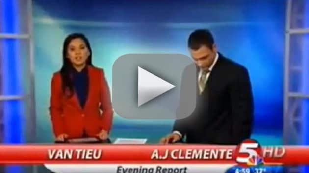 A.J. Clemente Curses on Air