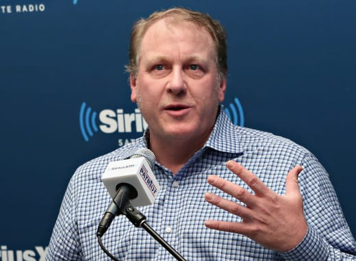 Curt Schilling at the Mic