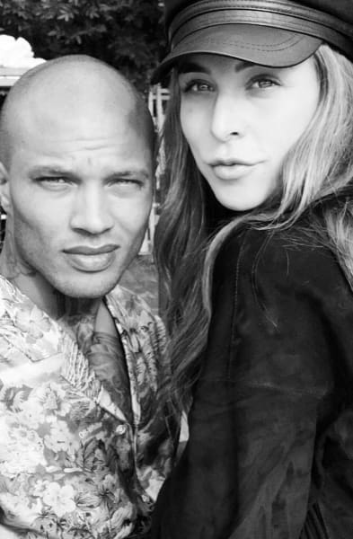 Jeremy Meeks with Chloe Green