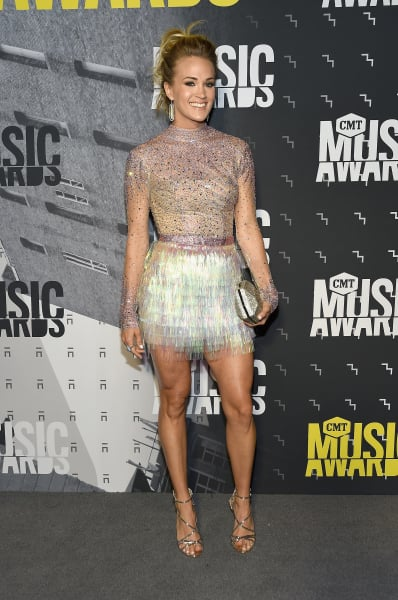 Carrie Underwood at the CMTs