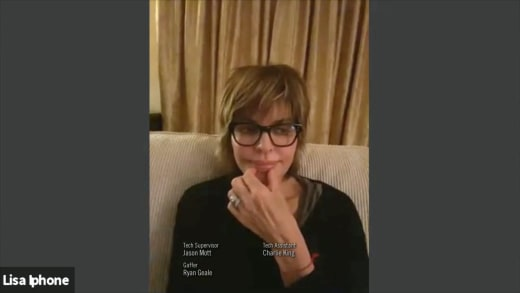 RHOBH 14 July 2021 promo - lisa rinna over video chat