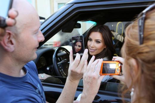 Fans of Kim Kardashian