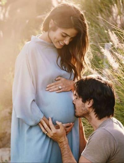 Nikki Reed Pregnancy Pic